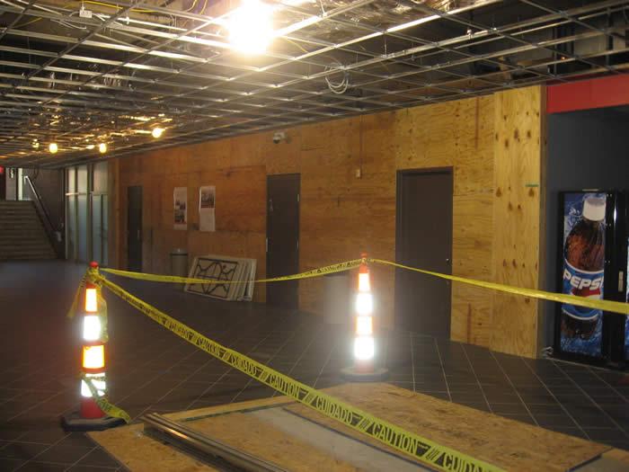 Interior renovation U of L